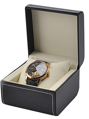 cheap Quartz Watches-Watch Display Stand Watch Boxes Leather 7.5 cm 11.5 cm