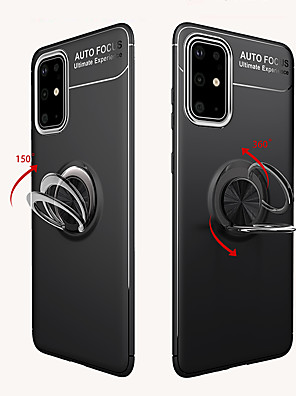 cheap Samsung Case-Case For Samsung Galaxy S20 Plus / S20 Ultra / S20 Shockproof / Ring Holder Back Cover Armor TPU