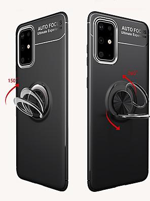 voordelige Samsung-accessoires-case voor samsung galaxy s20 plus / s20 ultra / s20 schokbestendig / ring houder achterkant armor tpu