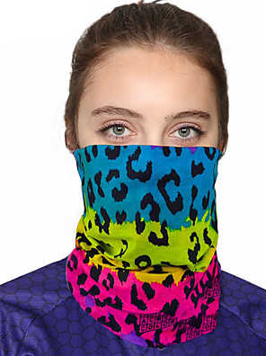cheap Bandana-Women's Bandana Balaclava Neck Gaiter Neck Tube UV Resistant Quick Dry Lightweight Materials Cycling Polyester for Men's Women's Adults / Pollution Protection / Floral Botanical Sunscreen / High Breat