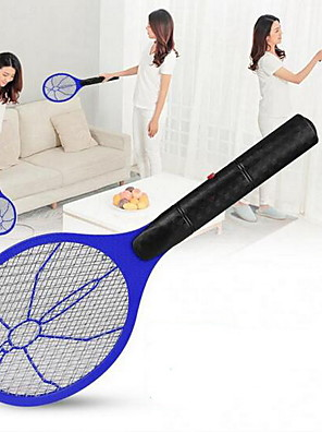cheap Hand Tools-Summer Hot Cordless Battery Power Electric Fly Mosquito Swatter Bug Zapper Racket Insects Killer Home Bug Zappers