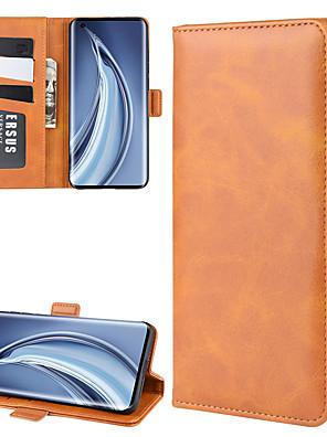 povoljno Maske/futrole za Xiaomi-for xiaomi mi 10/10 pro wallet stand kožna torbica za mobitel s novčanikom& posjednik& utora za kartice