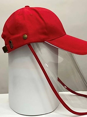 cheap Protective Hats-Women's Basic Polyester Full-face Protective Hat /Summer Outdoor Gardening / Foldable / Beach / Sunscreen Sun Hat Big Brim Baseball Cap