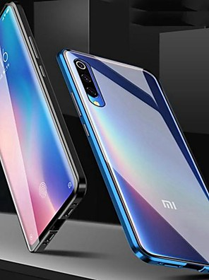 cheap Quartz Watches-Magnetic Case for Redmi Note 9S / Note 9 Pro/Mi Note 10 Magenetic Adsorption Double Sided Case Transparent Tempered Glass / Case For Redmi 8A / Note 8 Pro /K20 Pro/ Mi 9 SE