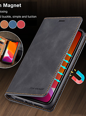 cheap vivoCase-Luxury Magnetic Wallet Flip Leather Case For Apple iphone 11 Pro Max SE 2020 XR XS Max X 8 Plus 7 Plus 6 Plus Card Stand Cover