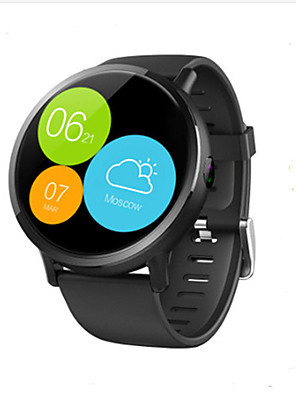 cheap Smart Watches-LEMFO LEMX Unisex Smartwatch Android iOS Bluetooth 4G Waterproof Touch Screen GPS Heart Rate Monitor Health Care Timer Pedometer Sedentary Reminder Alarm Clock Calendar