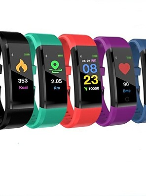 cheap Quartz Watches-ID115 PLUS Smart Wristband Bluetooth Fitness Tracker Support Notify/ Heart Rate Monitor Waterproof Sports Smartwatch Compitable Samsung/ Iphone/ Android Phones