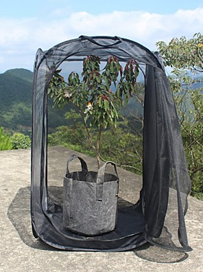 cheap Hand Tools-All Black Insect-proof Net Cage Foldable Plant Warm Room Light Observation Room Insect Hatching Box Butterfly Cage