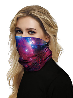 cheap Prom Dresses-Women's Bandana Balaclava Neck Gaiter Neck Tube UV Resistant Quick Dry Lightweight Materials Cycling Polyester for Men's Women's Adults / Pollution Protection / Floral Botanical Sunscreen / High Breat