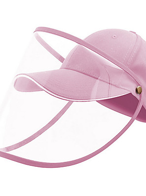 cheap Protective Hats-Unisex Basic Cotton Protective Hat-Solid Colored All Seasons Blushing Pink Red Blue