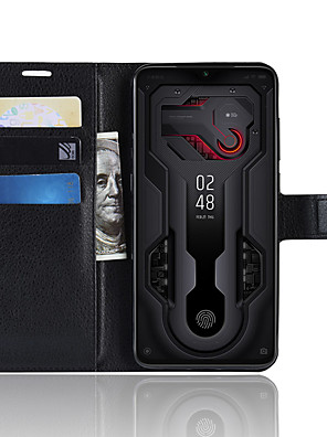 cheap vivoCase-Naxtop TPU And PU Leather Wallet Flip Stand Phone Case Protective With Card Slot Cash For Xiaomi Mi 9 Explorer / 9 Lite / 9 SE / 9T Pro / 9