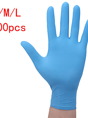 cheap Cocktail Dresses-100PCS Disposable Latex Gloves Rubber Gloves Cleaning Gloves Work Gloves