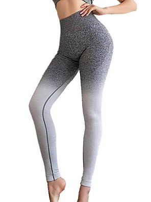 cheap Leggings-Women's Sporty Slim Sweatpants Pants Multi Color High Waist Fuchsia Gray S M L