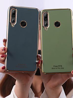 cheap Huawei Case-Case For Huawei Huawei P30 / Huawei P30 Pro / Huawei P30 Lite Frosted Back Cover Tile TPU