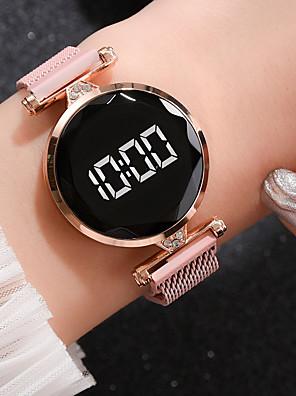 cheap Women's Digital Watches-Ladies Quartz Watches Quartz Formal Style Modern Style Elegant Casual Watch Digital Rose Gold Black Blue / One Year / One Year