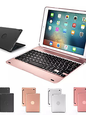 cheap iPad Keyboards-Keyboard Case for Apple iPad 9.7 for iPad 5 6 Pro 9.7 Wireless Bluetooth Keyboard Cover for iPad Air Stand Shell