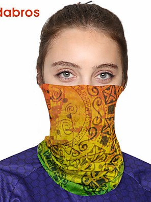cheap Christening Gowns-Women's Bandana Balaclava Neck Gaiter Neck Tube UV Resistant Quick Dry Lightweight Materials Cycling Polyester for Men's Women's Adults / Pollution Protection / Floral Botanical Sunscreen / High Breat