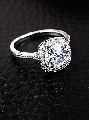cheap Quartz Watches-Women's Ring 1pc Silver Alloy Elegant Holiday European Festival Jewelry