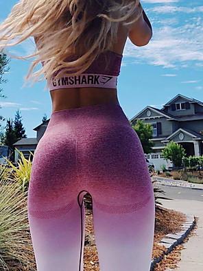 cheap Mini Dresses-Women's Sporty Sweatpants Pants - Geometric Pattern Fuchsia Light gray Dark Gray S M L