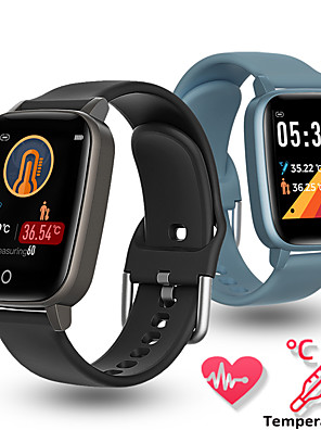 cheap Smart Watches-NORTH EDGE CITI-T1 Men's Smartwatch Smart Wristbands Android iOS Bluetooth Touch Screen Heart Rate Monitor Calories Burned Long Standby Thermometer Pedometer Call Reminder Sedentary Reminder Alarm