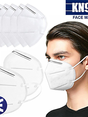 cheap Tankinis-20 pcs KN95 Face Mask Respirator Protection In Stock Melt Blown Fabric Filter White