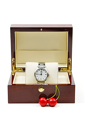 cheap Watch Boxes-Watch Display Stand Watch Boxes Wood 8.8 cm 18 cm