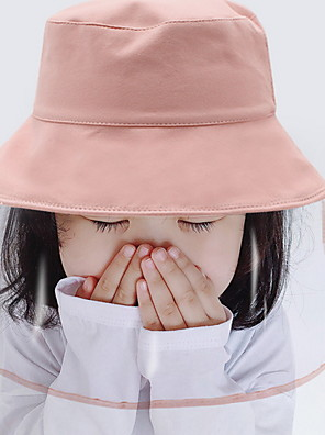 cheap Protective Hats-Women's Basic Polyester Protective Hat - Solid Colored Yellow Blushing Pink Orange