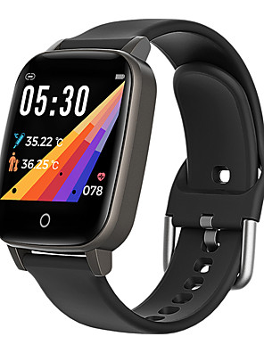 cheap Smart Watches-T1 Unisex Smartwatch Smart Wristbands Android iOS Bluetooth Waterproof Touch Screen Heart Rate Monitor Thermometer Exercise Record Pedometer Call Reminder Activity Tracker Sleep Tracker Sedentary