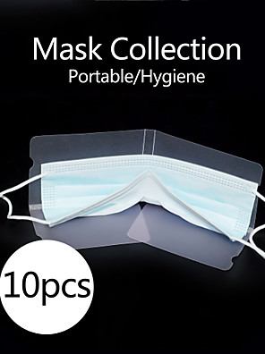 cheap Cell Phone Charms-10pcs Mask Collection for Isolation Bacteria