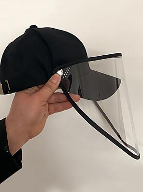 cheap Protective Hats-Women's Basic PU Floppy Hat-Floral Print All Seasons Black