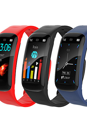 cheap Smart Watches-Spovan H01 Unisex Smartwatch Android iOS Bluetooth Waterproof Heart Rate Monitor Blood Pressure Measurement Sports Calories Burned ECG+PPG Timer Pedometer Activity Tracker Sedentary Reminder