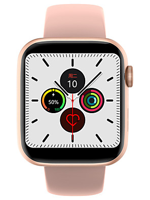 cheap Smart Watches-W35 Unisex Smart Wristbands Android iOS Bluetooth Touch Screen Heart Rate Monitor Blood Pressure Measurement Calories Burned Anti-lost ECG+PPG Stopwatch Pedometer Call Reminder Sleep Tracker