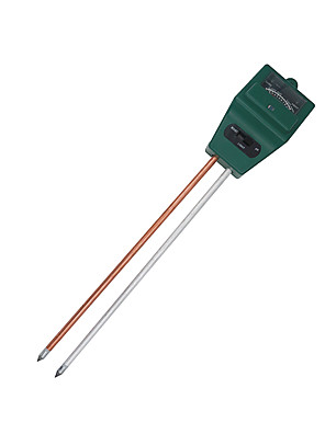 cheap Hand Tools-Soil Meter 3 in 1 Soil Water Moisture humidity Testers Light PH Tester for Garden Plant Flower Test Meter with 2 Probes 15%