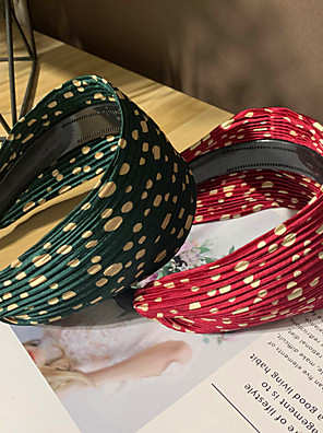 cheap Buy More, Save More-Double Layer Cloth Hair Accessory with Flower 1 Piece Casual / Daily Wear Headpiece