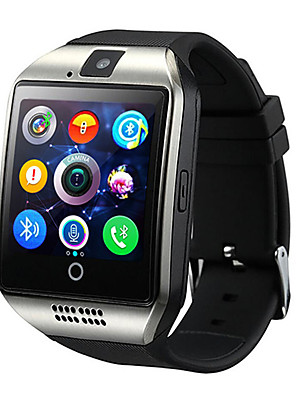 cheap Smart Watches-Q18 Unisex Smartwatch Android Bluetooth Waterproof Touch Screen Blood Pressure Measurement Information Camera Control ECG+PPG Sleep Tracker Community Share