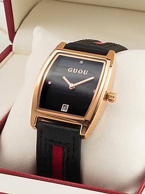 cheap Quartz Watches-Women's Quartz Watches Luxury Fashion Genuine Leather Chinese Quartz White Black Purple Water Resistant / Waterproof 30 m 1 pc Analog One Year Battery Life