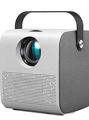 cheap Boys' Tops-Q3 Mini Projector HD 2800 lumen HIFI Bluetooth Speaker Home Cinema Support 1080P 4K 3D Beamer Game Projector Video Home Cinema Movie Game Projector