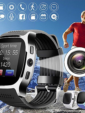 cheap Smart Watches-T8 Unisex Smartwatch Android iOS Bluetooth Heart Rate Monitor Blood Pressure Measurement Sports Long Standby Exercise Record Timer Stopwatch Pedometer Call Reminder Sleep Tracker