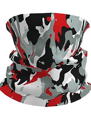 levne Dámské šaty-Pánské / Unisex 3D Tisk Čtvercový šátek / nekonečná šála / Hidžáb - Tisk / Barevné bloky Multifunkční