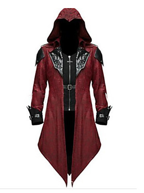 cheap Wedding Dresses-Inspired by Assassin Alexios Video Game Cosplay Costumes Cosplay Suits Vintage Coat Costumes