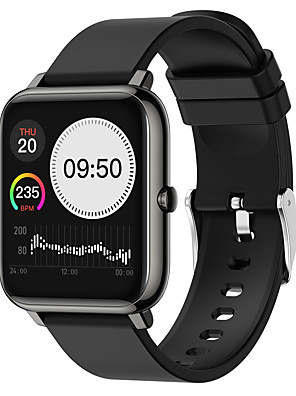 cheap Smart Watches-P22 Unisex Smartwatch Smart Wristbands Android iOS Bluetooth Waterproof Heart Rate Monitor Sports Exercise Record Health Care Pedometer Call Reminder Activity Tracker Sleep Tracker Sedentary Reminder