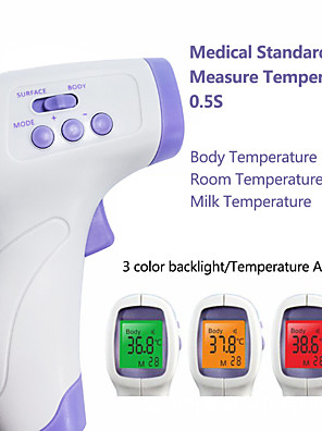 cheap Boys' Tops-YNA-800 Non-contact Body Thermometer Forehead Digital Infrared Thermometer Portable Digital Measure Tool FDA &amp CE Certificated for Baby Adult