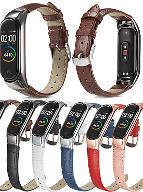cheap Leather Watch Bands-Stainless Steel Watch Band Strap for Xiaomi Mi Band 4 17cm / 6.69 Inches 1.2cm / 0.47 Inches