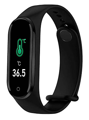 cheap Smart Watches-M4PT Unisex Smartwatch Smart Wristbands Android iOS Bluetooth Waterproof Sports Thermometer Exercise Record Health Care Pedometer Call Reminder Activity Tracker Sleep Tracker Sedentary Reminder