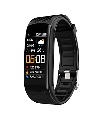 cheap Smart Watches-C5S Unisex Smart Wristbands Android iOS Bluetooth Heart Rate Monitor Blood Pressure Measurement Sports Calories Burned Blood Oxygen Monitor Stopwatch Pedometer Call Reminder Sleep Tracker Sedentary