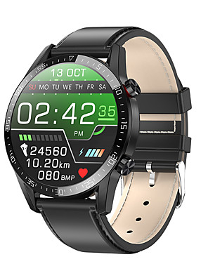 cheap Smart Watches-L13 Unisex Smart Wristbands Android iOS Bluetooth Touch Screen Heart Rate Monitor Blood Pressure Measurement Calories Burned Anti-lost ECG+PPG Stopwatch Pedometer Call Reminder Sleep Tracker