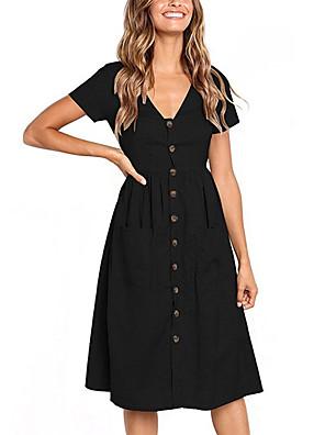 cheap Mini Dresses-Summer Casual Dress
