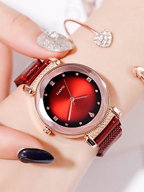 cheap Quartz Watches-Ladies Quartz Watches Quartz Formal Style Modern Style Elegant Imitation Diamond Cubic Zirconia Black / Blue / Red Analog - Rose Gold Black Blue One Year Battery Life