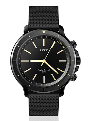 cheap Smart Watches-Zeblaze VIBE LITE Unisex Smartwatch Android iOS Bluetooth Waterproof Heart Rate Monitor Blood Pressure Measurement Calories Burned Health Care ECG+PPG Timer Pedometer Sedentary Reminder Temperature