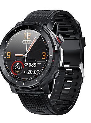 cheap Smart Watches-L15 SmartWatch ECG Heart Rate IP68 Waterproof Blood Pressure Music Control LED Torch Light VS L12 SG2 l13 Smart Watch